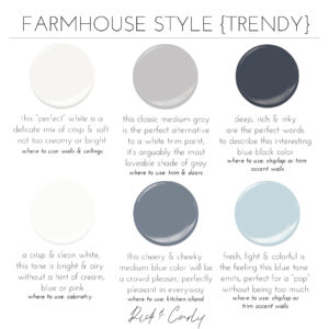 Farmhouse Style {Trendy}