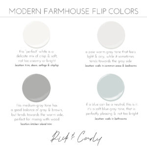 Modern Farmhouse Flip