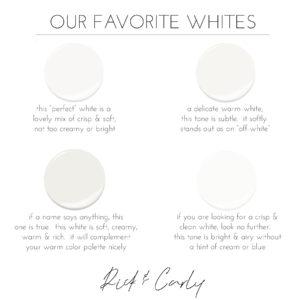 Our Favorite Whites